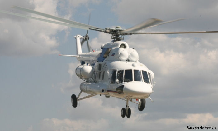 Russian Helicopters authorizing a service center in Iran