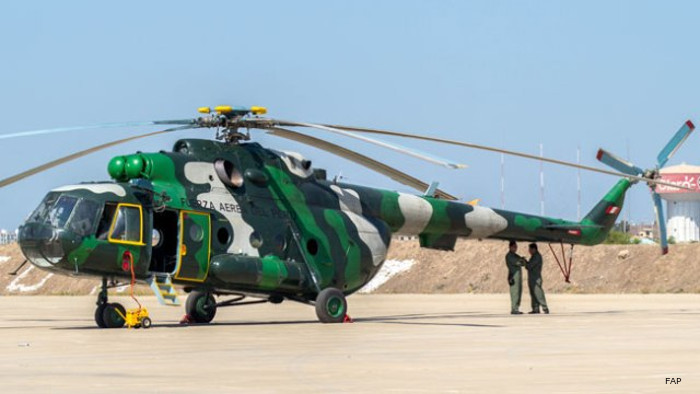 The fleet of Russian-made helicopters in Peru is one of the biggest in the Western Hemisphere