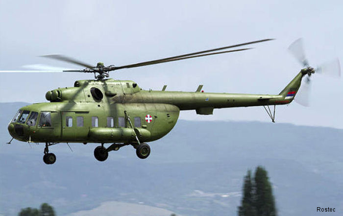 Russian Helicopters is ready to provide aftersales service for the Mi-8/17 in Serbia