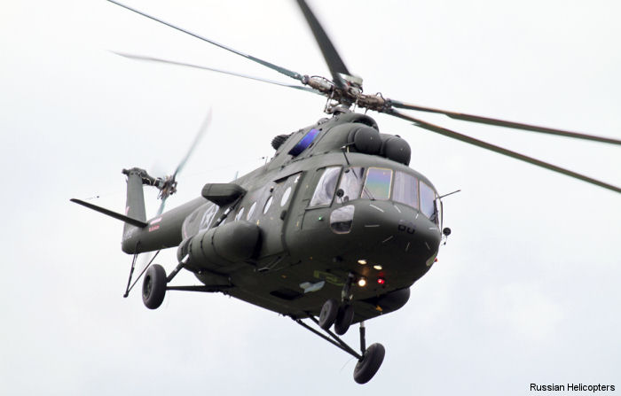 Russian Helicopters and Rosoboronexport deliver first 2 Mi-17V-5 helicopters to Serbia