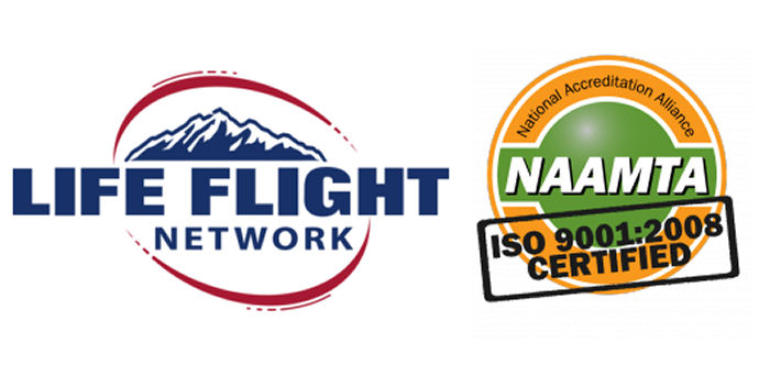 Life Flight Network achieves Medical Transport Accreditation - NAAMTA