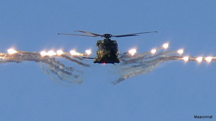 Finland's NH90 Reaches 10.000 Flight Hours