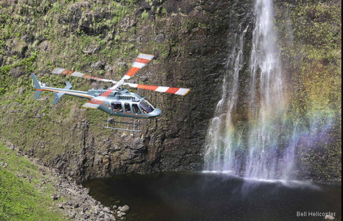 Hawaii's Paradise Helicopters Signs Fleet for Bell Helicopter Customer Advantage Plans