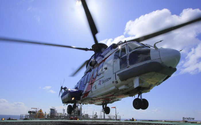 Bristow Commences First Flights for Petrofac in the Central North Sea