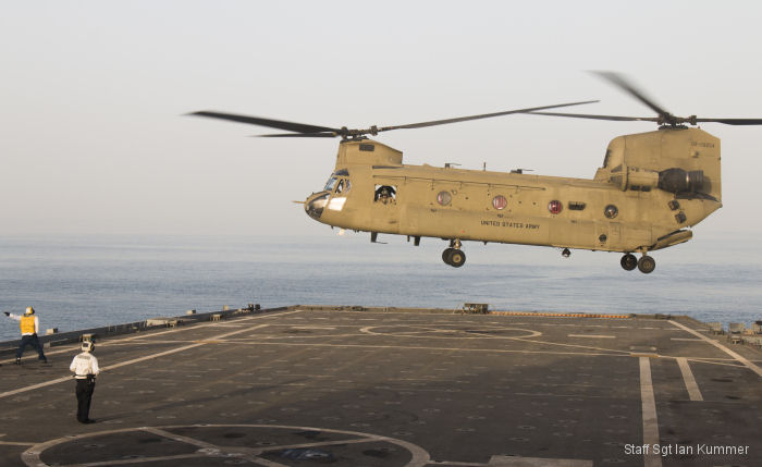 40th CAB and USS Ponce conduct interoperability training exercise