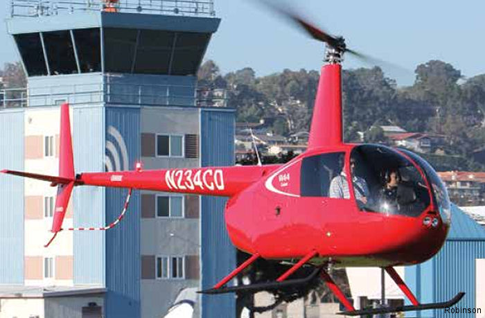 Robinson is officially accepting orders for its new two-place R44 Cadet with an introductory price with standard equipment of $339,000 USD