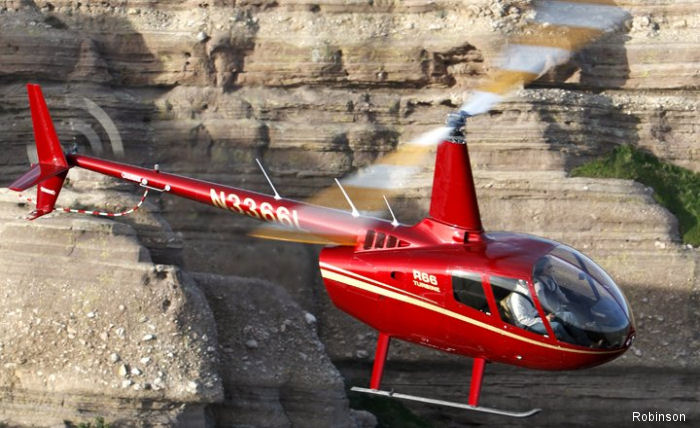 Charter Helicopter success using Robinson R66 at Guidance Aviation