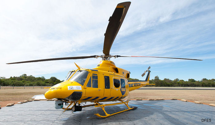 CHC Helicopter crews complete 5,000 EMS and SAR missions in Western Australia