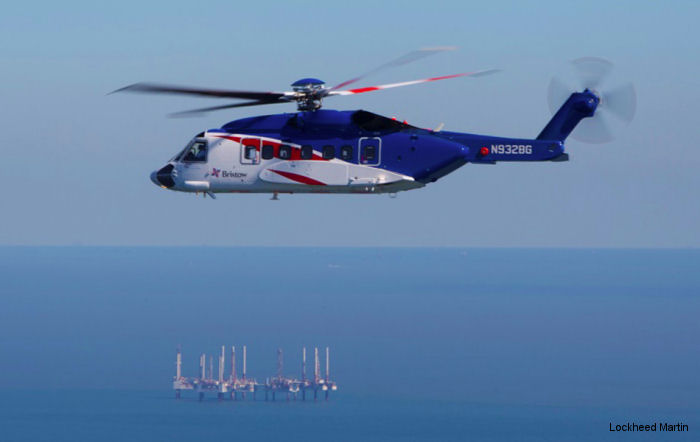 Sikorsky and Bristow Sign 10-Year Support Agreement for S-92 Helicopters
