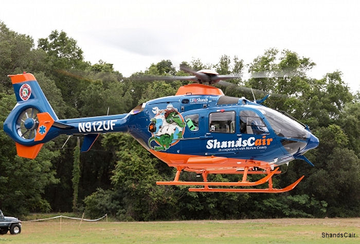 Shands celebrates 35 years of helicopter patient transport