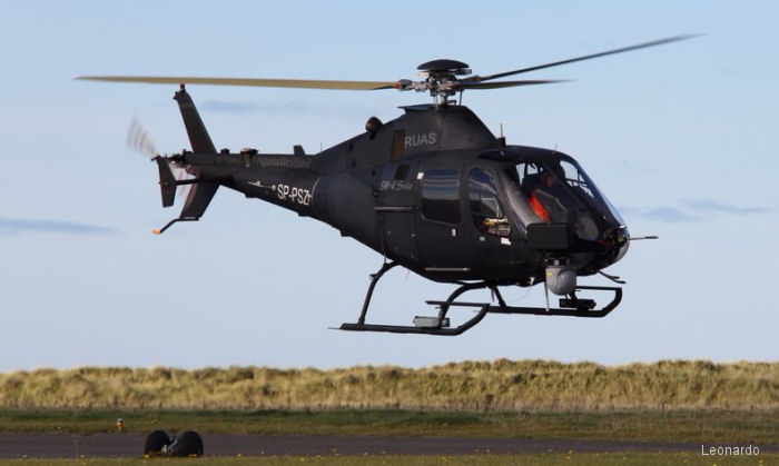 The SW-4 Solo Remotely Piloted Helicopter Begins Test Campaign in Grottaglie Airport