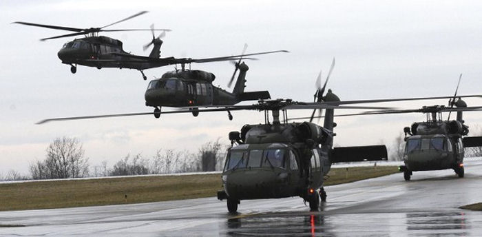 Sikorsky Colombia Offers Support for Mexico Black Hawk Helicopters