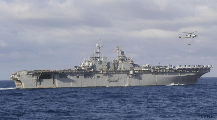 Amphibious assault ship USS Wasp (LHD 1) completed its first deployment in 12 years. From next year will be forward deploy at Sasebo, Japan