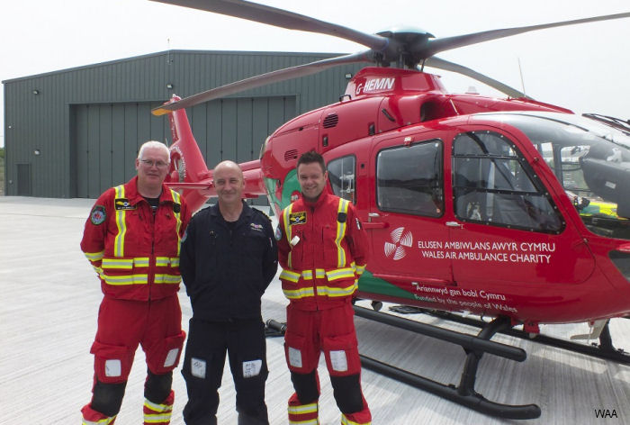Wales Air Ambulance has moved into the charity's first owned home, after a 12-month project to build a new headquarters and airbase for its South Wales operation.