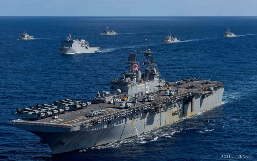 USMC 31st Marine Expeditionary Unit (MEU) aboard the Bonhomme Richard Expeditionary Strike Group completed the 17.2 deployment of the Indo-Asia-Pacific region and returned to home base Okinawa