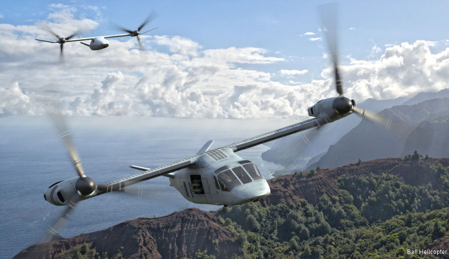 Bell V-247 and V-280 to be featured at the 2017 Army Aviation Mission Solutions Summit in Nashville, TN, April 26-28
