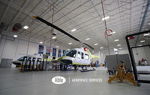 Able Aerospace Services, a Textron company, approved by the Directorate General of Civil Aviation (DGCA) of India to provide a wide spectrum of repair, overhaul and replacement parts support