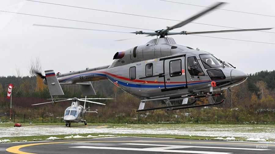 Russian Ansat helicopters arrive to Mexico