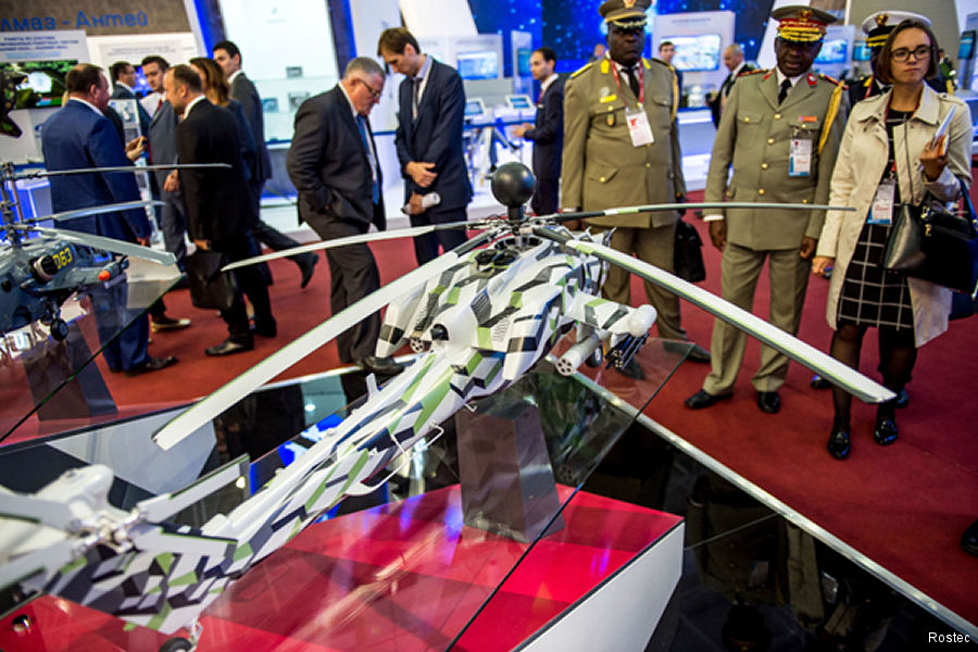 Rosoboronexport to Receive Over 70 Foreign Delegations at Army 2017