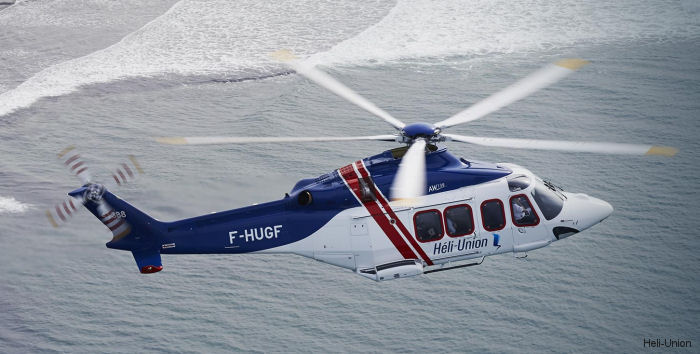 LCI Delivers AW139 To Heli-Union