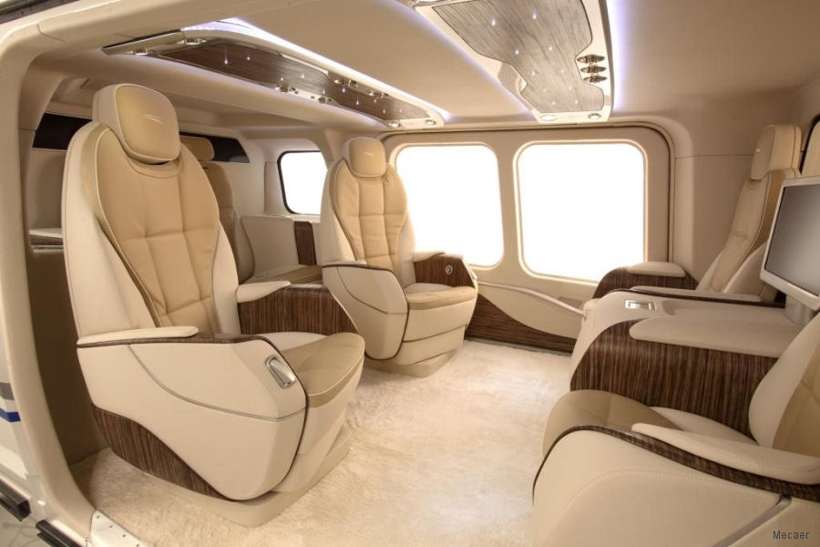 Mecaer to display VVIP interior for the AW169 at Elite New York, September 8-9, Essex County Airport, NJ