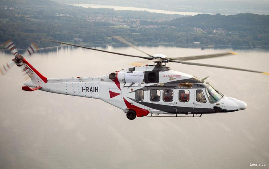 Leonardo introduces the AW189K helicopter at Helitech 2017