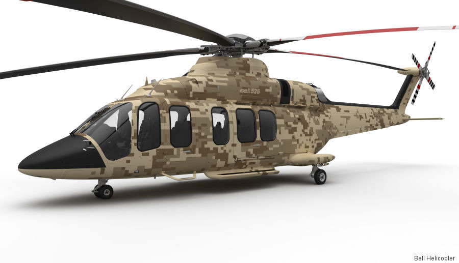 Bell 525 Relentless Offers Advanced Troop Transport