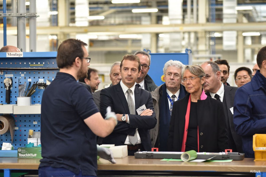 Airbus Helicopters continues industrial transformation with Paris-Le Bourget blades site