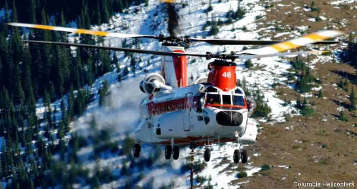 Columbia Helicopters Selects SkyTrac Flight Data Monitoring for Chinook 234
