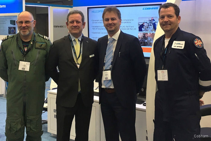 Cobham and Helisota partner on helicopter training and support