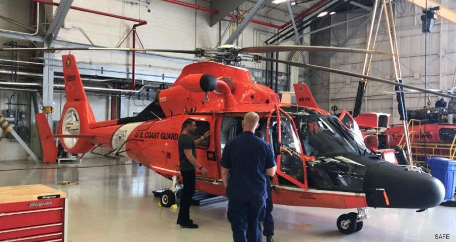 S.A.F.E. Structure awarded contract to design and manufacture ergonomic platforms for the United States Coast Guard's fleet of MH-65's in Elizabeth City, North Carolina