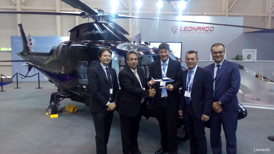Centaurium Aviation Ltd takes delivery of its GrandNew helicopter in Switzerland