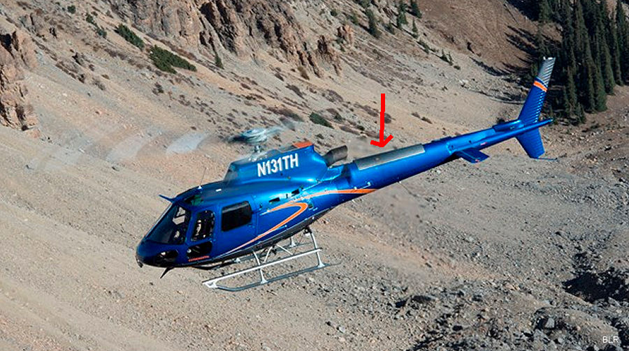Brazil's Agência Nacional de Aviação Civil (ANAC) granted certification to BLR's FastFin Tail Rotor Enhancement and Stability System on H125/AS350B3 helicopters