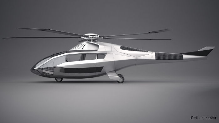 The company unveiled its vision for the future of rotorcraft at Heli-Expo 2017 with its first concept aircraft the FCX-001