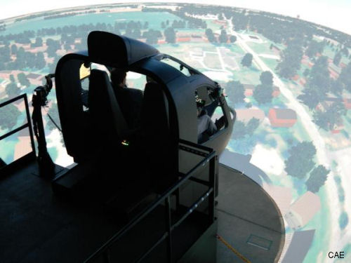 CAE USA wins US$450 million Army contract to provide rotary-wing flight training instructor support services
