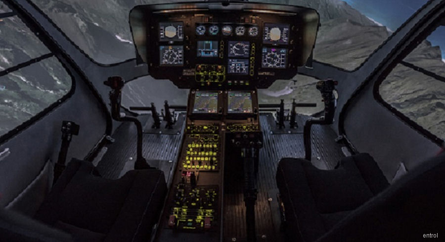 Entrol has certified its first H135 T2+ FTD level 2 simulator for HUTC
