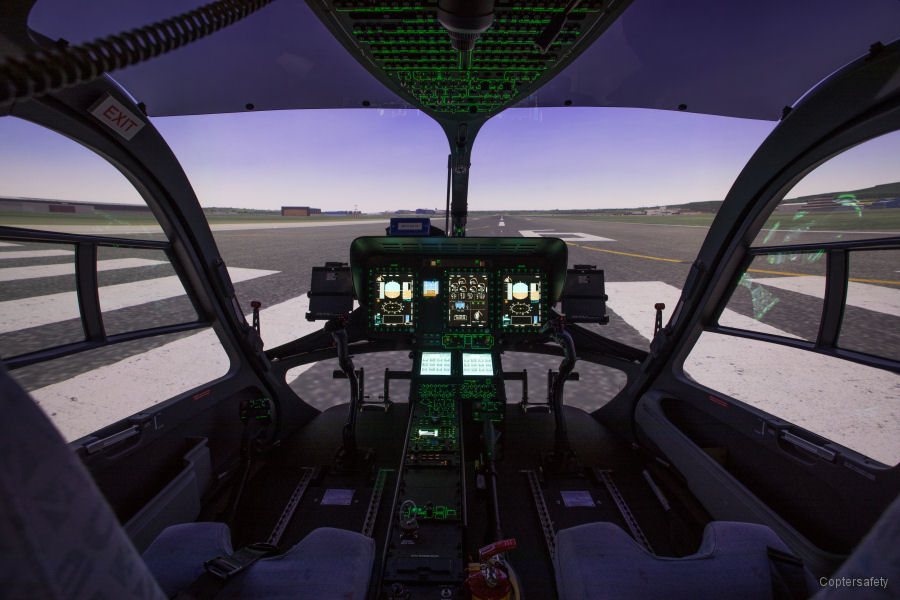 Coptersafety H145 Level D Full Flight Simulator
