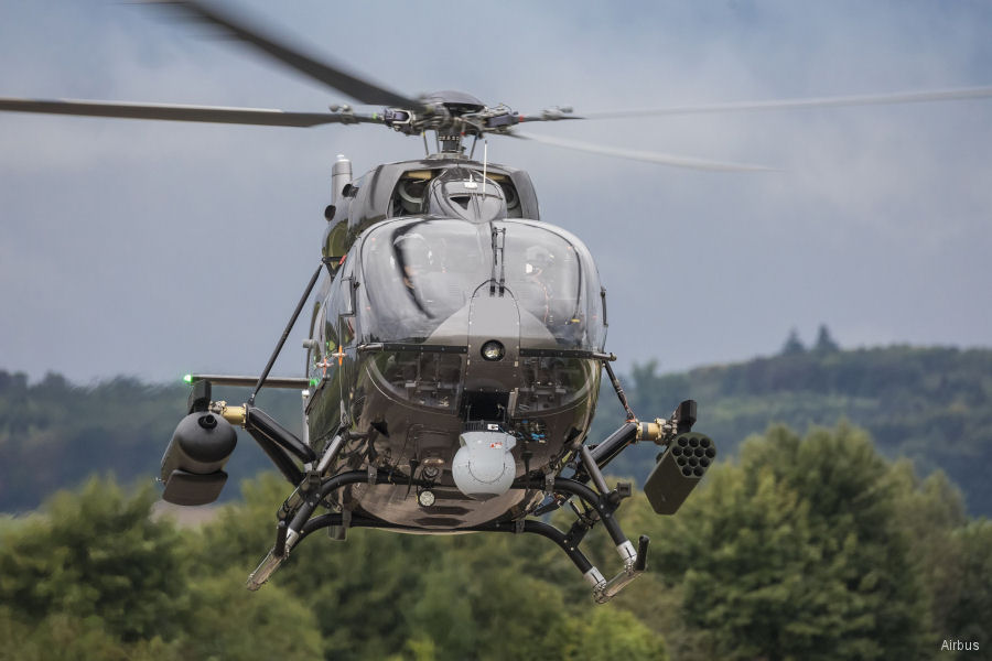 The H145M / EC645T2 helicopter performed its first flight with a complete HForce weapon system at Airbus Germany Donauwörth facility. Serbia is the launch customer. Qualification scheduled for 2018