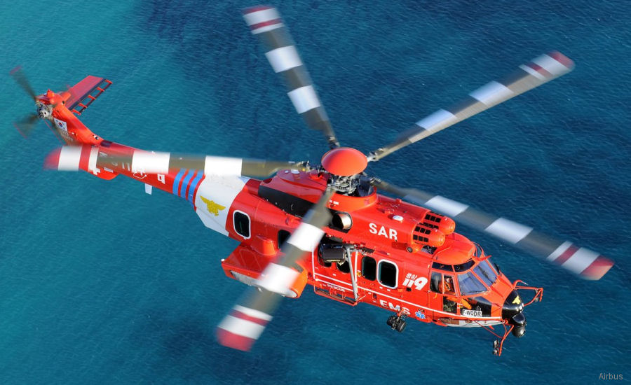 Outstanding Endurance and Fast Cruise Speed. South Korea's National 119 Rescue Headquarters acquires two H225 helicopters