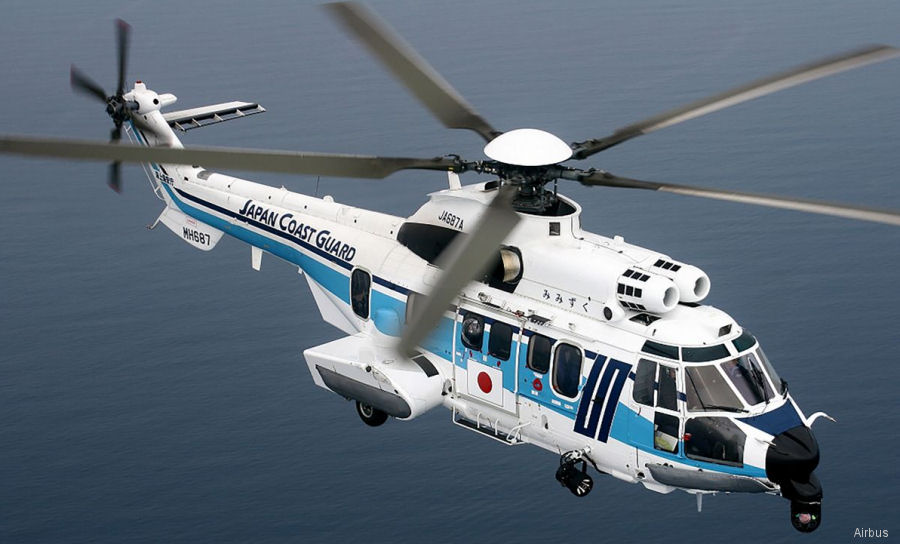 New purchase will bring total JCG H225 fleet to 9 helicopters to be delivered between 2018 and 2020 to replace older AS332L1 and EC225 in order to remain 11 Super Puma in service