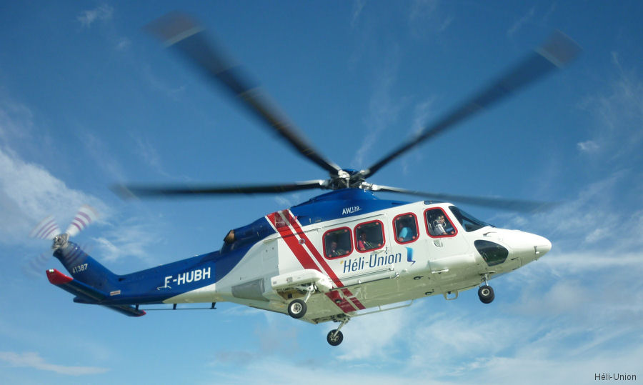 Héli-Union providing 3 AW139 for offshore transportation and SAR services to gas and oil company Woodside in the south of Myanmar