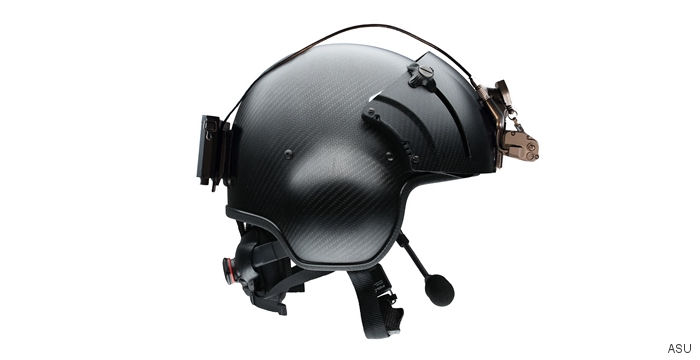 ASU, Inc., Reveals Lighter, More Comfortable NVG Mount, Battery Pack Helmet Combination at Heli-Expo 2017