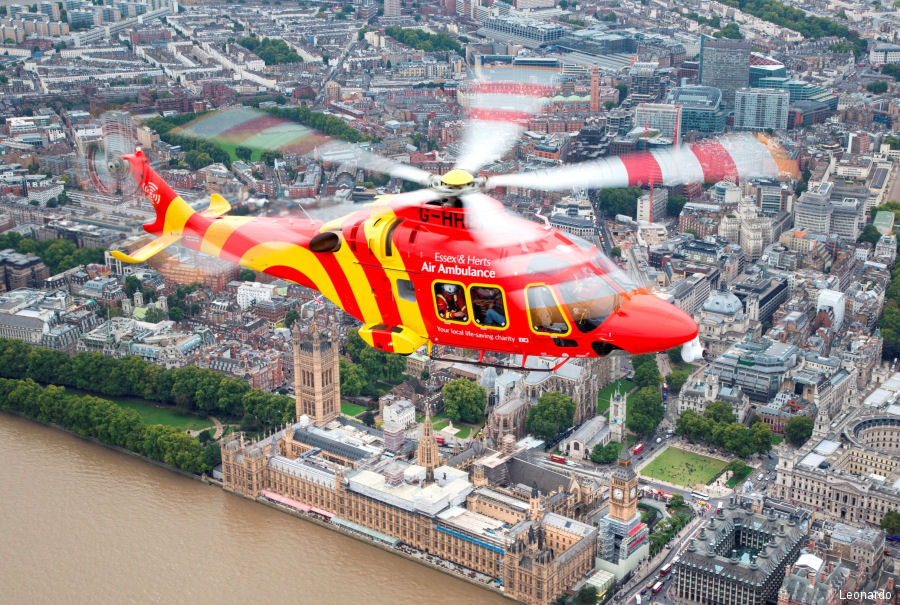 Leonardo will focus on the AW169 configured for air ambulance operations during Helitech 2017 at ExCeL London, October 3-5