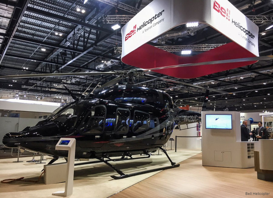Bell Helicopter at Helitech 2017