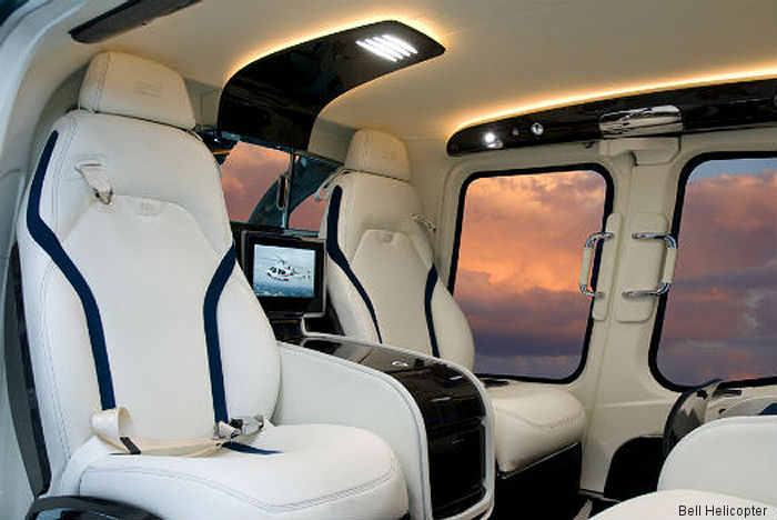 Bell to showcase the 407GXP, 429, 505 and the 525 in VVIP MAGnificent configuration during Heli-Expo 2017 at the Kay Bailey Hutchison Convention Center in Dallas, Texas, March 7-9