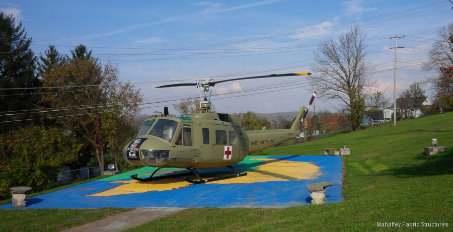 Mahaffey Provides Temporary Hangar Pro Bono for Historic Vietnam War Helicopter