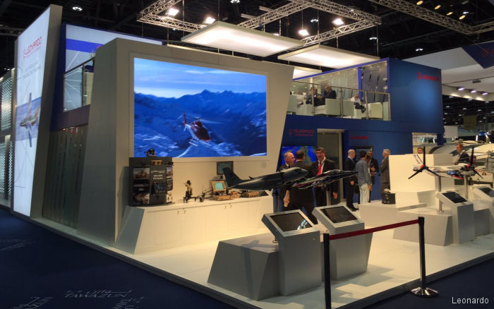 Leonardo is taking part in IDEX and NAVDEX exhibitions at the Abu Dhabi National Exhibition Centre in the United Arab Emirates, February 19-23