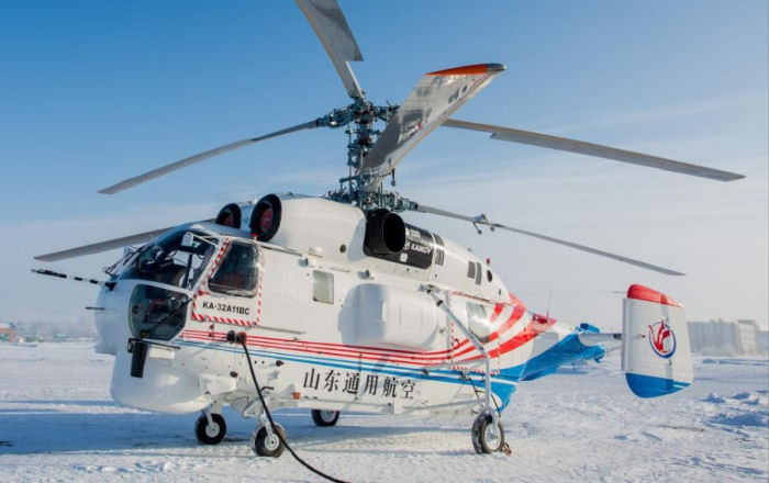 Russian Helicopters delivers two Ка-32А11ВСs Jiangsu Baoli Aviation of China
