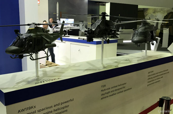 Leonardo present at Defence & Security exhibition LAAD 2017, Rio de Janeiro, Brazil April 4-7