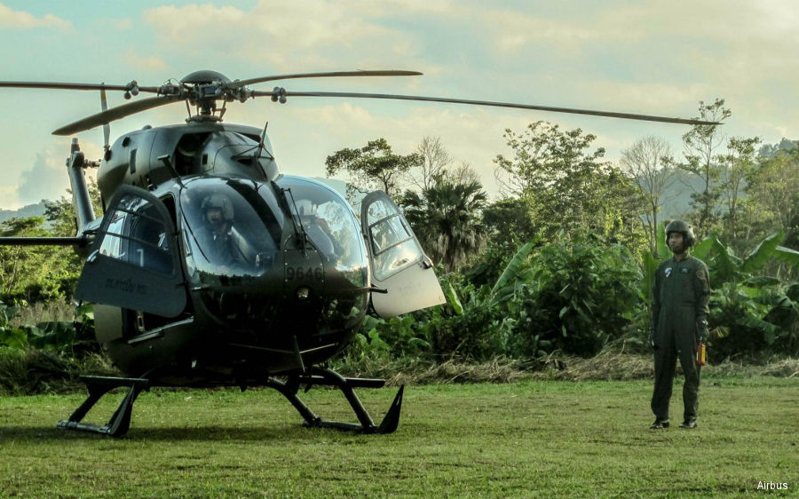 Royal Thai Army six UH-72A Lakota helicopters acquired in 2014 completed first two years in operation smoothly
